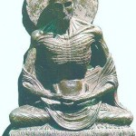 Ascetic Buddha from Taxila, Lahore museum